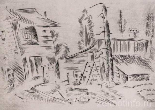 lev-yudin.-dvorik.-1939-1940.-gravyura-rezczom-suhaya-igla.-17.2-h-19.5.-grm._novyj-razmer