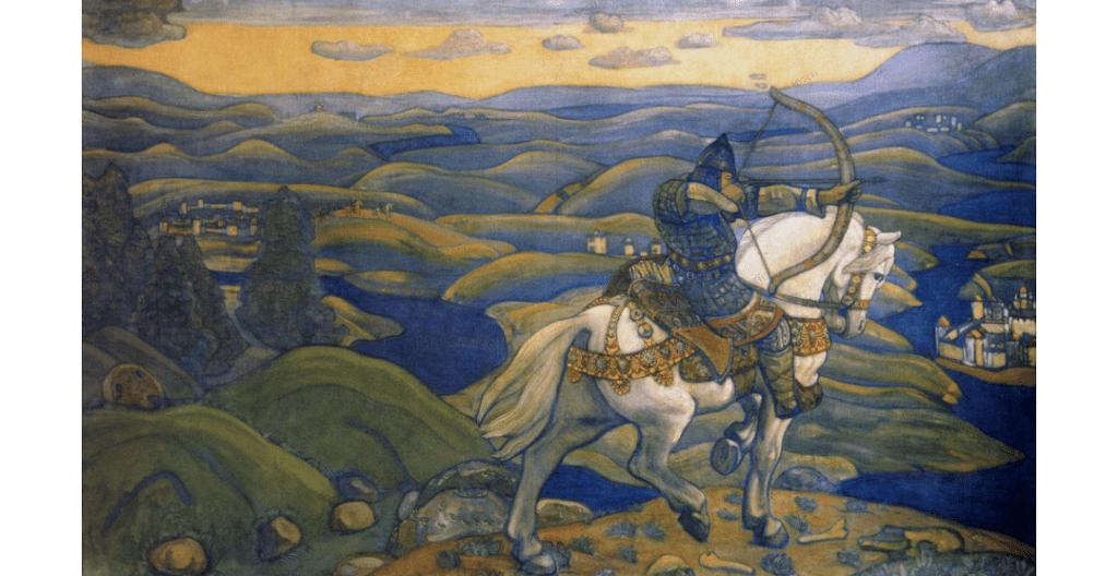 Рерих Н. К. Илья Мурмец. 1910 г.