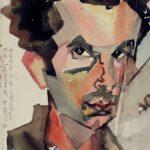 Рувим Мазель. Автопортрет во время малярии. 1923. Каракалпакский государственный музей искусств имени И.В. Савицкого, Нукус