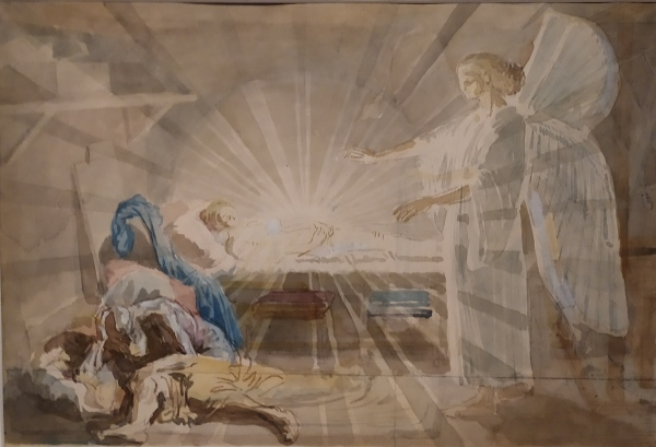 Александр Иванов. Библейские эскизы. Благовещение